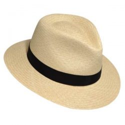 Holland Hats Bailey Brooks Authentic Panama Fedora