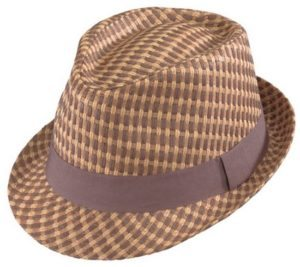 Henschel Two-Tone Summer Straw Fedora