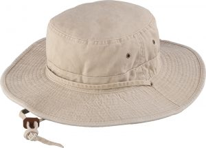 Holland Hats Henschel Washed Cotton Twill Packable Sun Hat