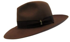 Holland Hats Borsalino Beaver Limited Broad Brim Brown