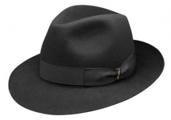 Holland Hats Borsallino Classico Black