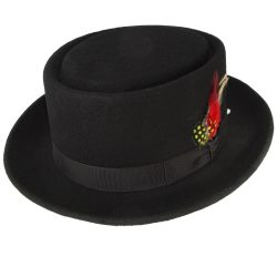 Holland Hats Capas Pork Pie Classic Hat