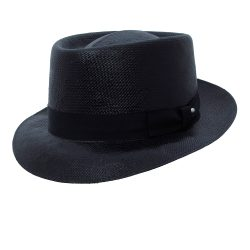 Holland Hats Capas Telescope Shantung Pork Pie Hat
