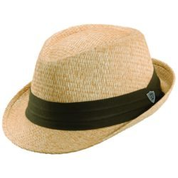 Holland Hats . Scala Matte Toyo Summer Fedora with 2 Inch Brim