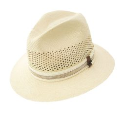 Holland Hats Scala Vented Panama Safari Style Summer Hat