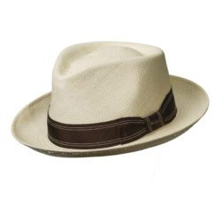 Holland Hats . Scala Authentic Panama Fedora Summer Hat