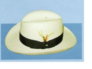 Holland Hats . Capas Godfather - Shantung Fedora Hat