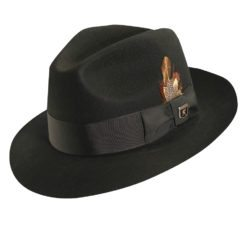 Stacey Adams Wool Felt Fedora