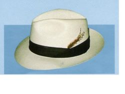 Holland Hats Capas Untouchable Shantung Fedora Summer Hat