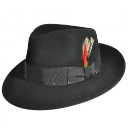 Holland Hats Bailey Fedora Black