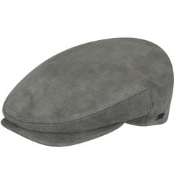 Holland Hats Kangol Suede Cap Gray